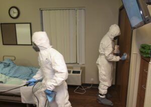 Infectious Disease Cleanup Company Marshall NC